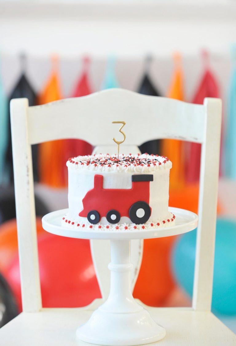 Contemporary Train Birthday Party Birthday Party Ideas
