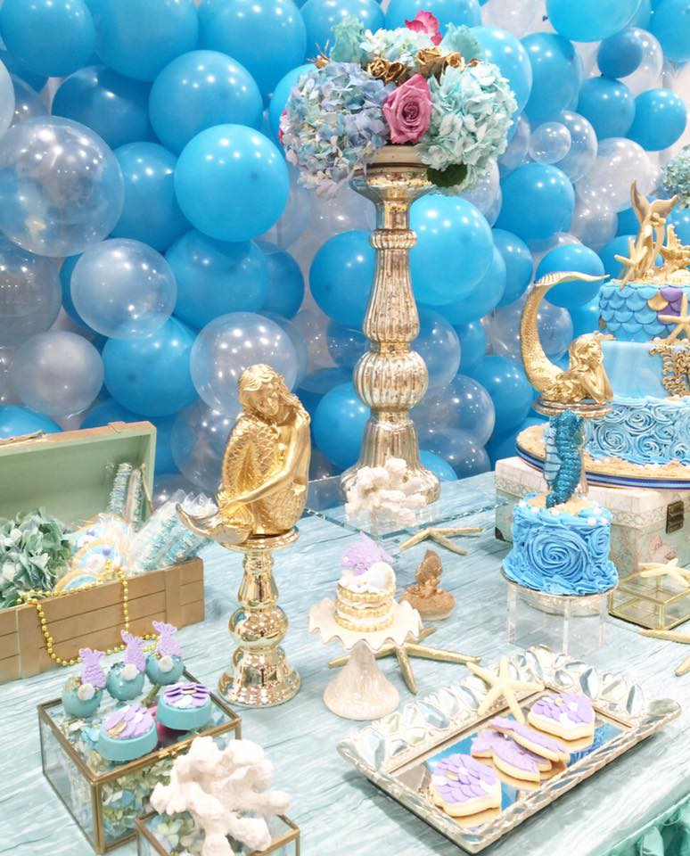 Magical Little Mermaid Birthday