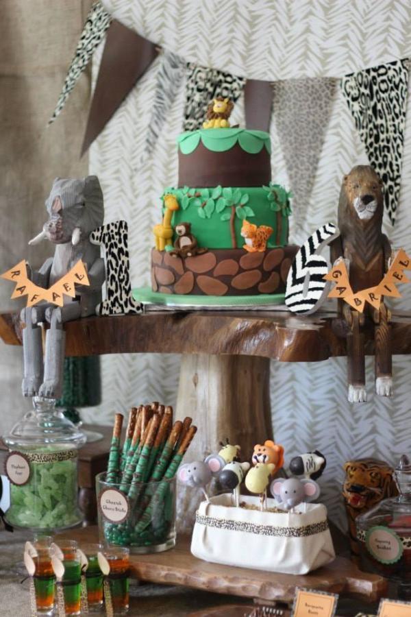 Baby Ideas Safari Theme Shower Food