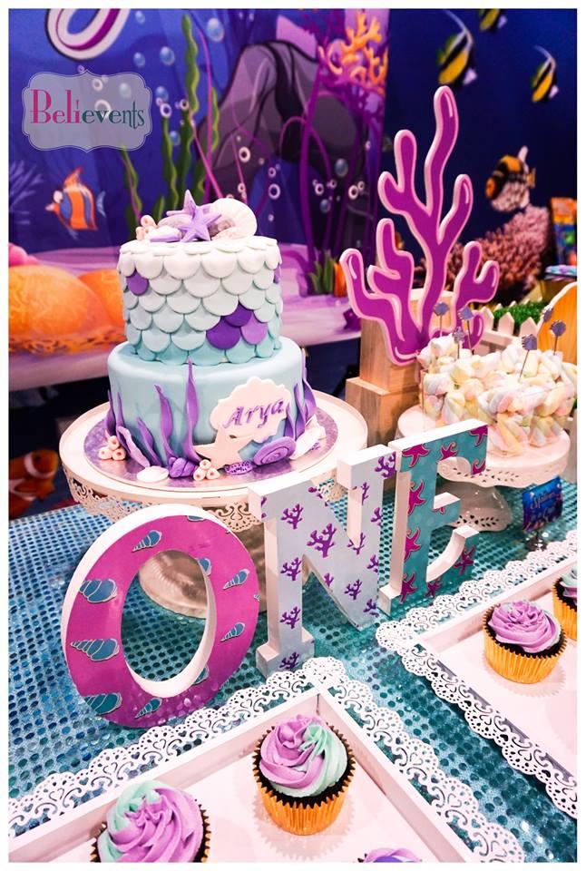 Bubbling Under The Sea Birthday Birthday Party Ideas