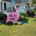 Stork Lawn Sign Rental
