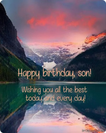 Happy Birthday Son Birthday Wishes For Son From Mom And Dad