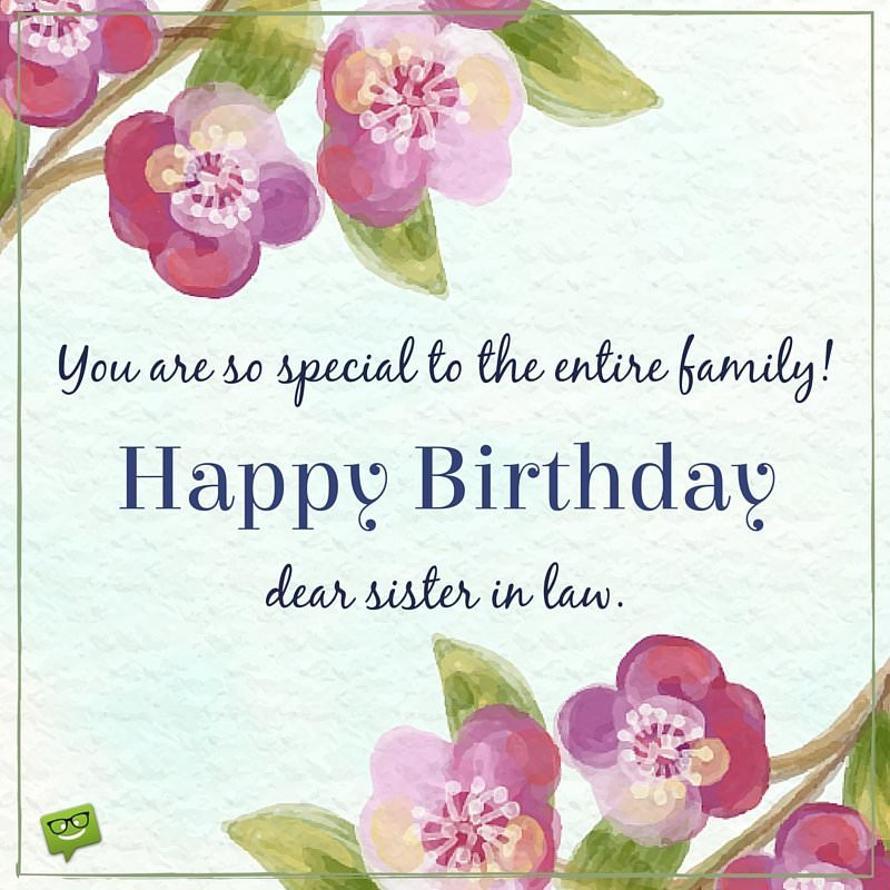 Happy Birthday, Sister-in-Law! | The Special Day of My Sis
