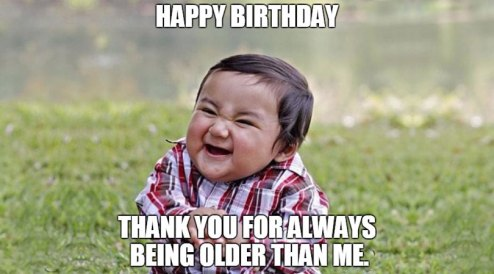 Huge List of Funny Birthday Quotes | Cracking Jokes
