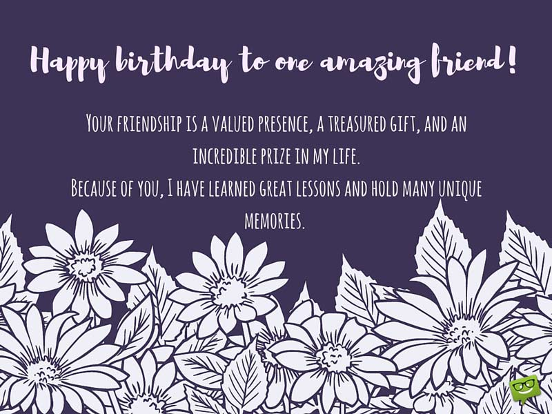 Friend Birthday Happy Longtime