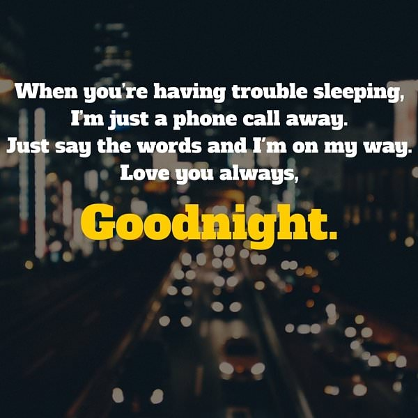 Sweetest Way Say Goodnight