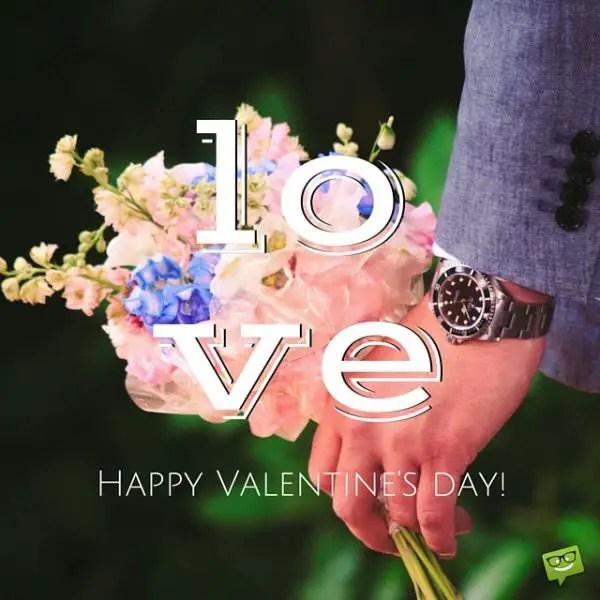 Love. Happy Valentine's day!