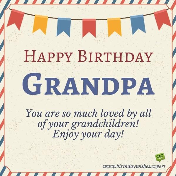 Happy Birthday, Grandpa!