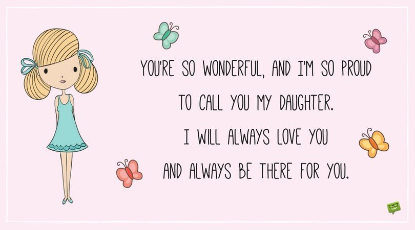 You Are Wonderful Daughter
