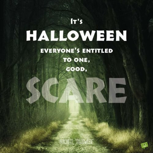 20 Scariest Halloween Quotes Memes Amp Pics