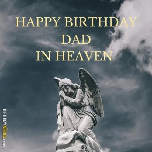 Happy Heaven Father Quotes Birthday