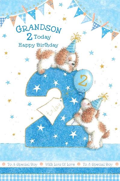 Happy Grandson Birthday Great Wishes