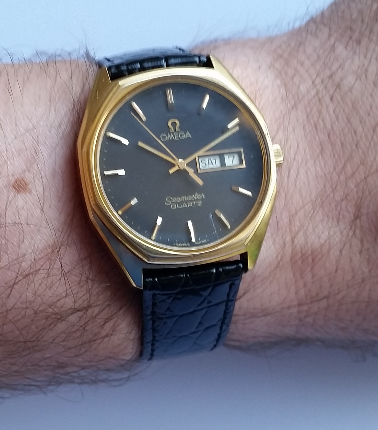 SOLD 1977 Omega Seamaster - Birth Year Watches