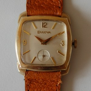 1964 Bulova dress watch