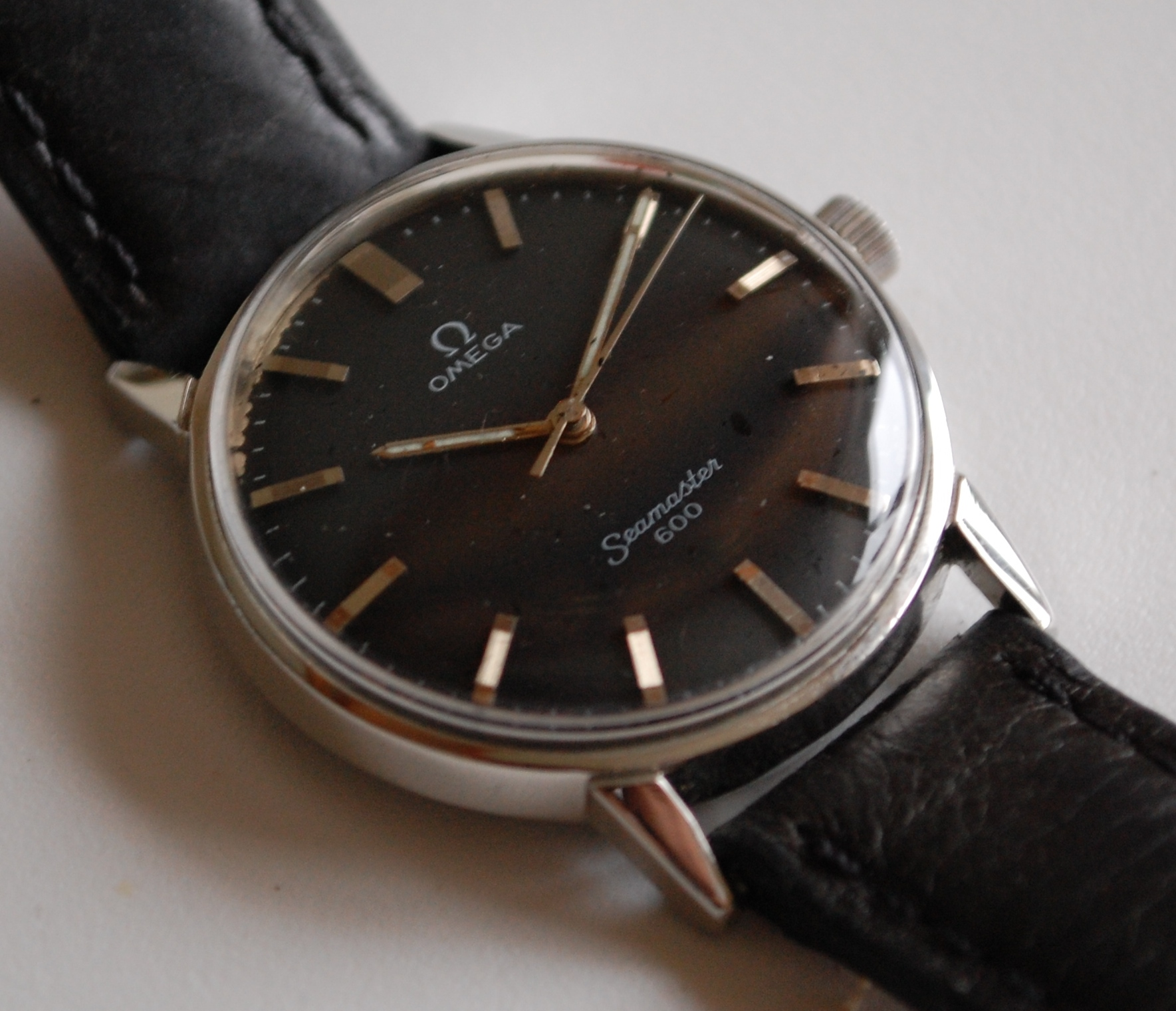 SOLD 1966 Omega Seamaster 600 Military - Birth Year Watches