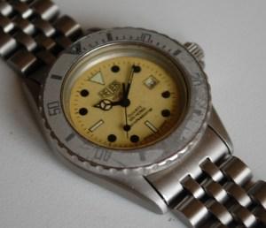 1984 Heuer 1000 unisex divers watch