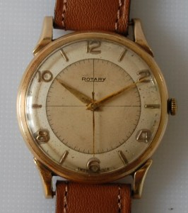 1952 Rotary 9ct gold watch