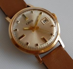 c1975 Oris manual wind men's watch