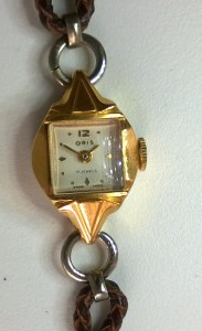 c1955 Oris Ladies with fancy case