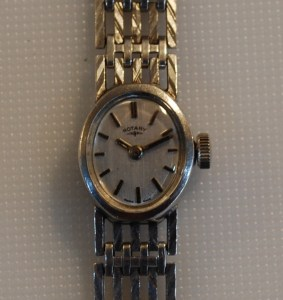 1972 Silver Rotary ladies watch
