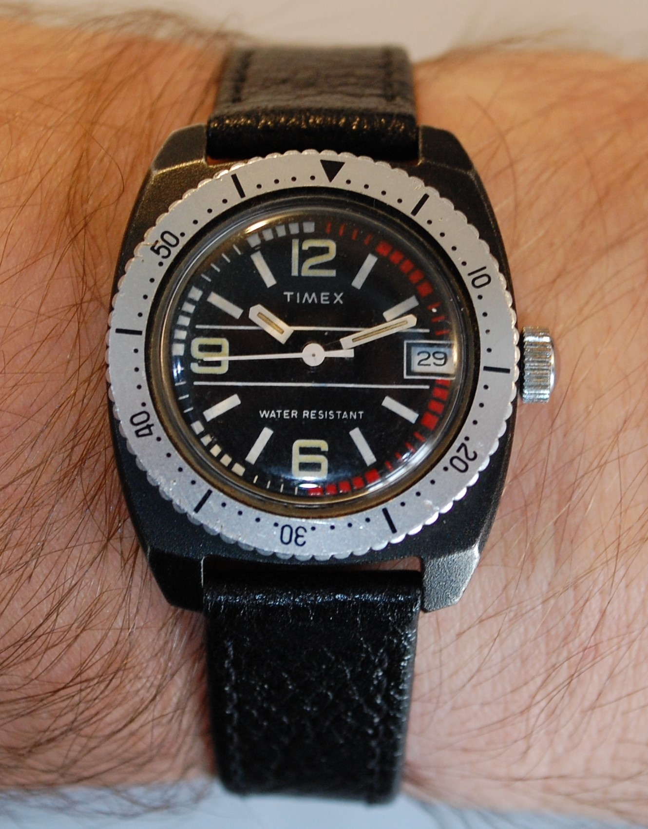 SOLD C1978 Timex Ladies Or Boys PVD Divers Style Watch