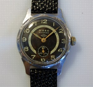 c1958 Majak 16j men's watch with sub seconds