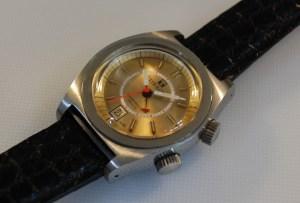 1972 Tissot Sonorous alarm watch