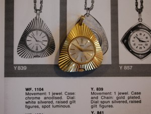 1968 Smiths pendant watch