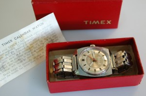 1974 Timex 25m Automatic with box and papers