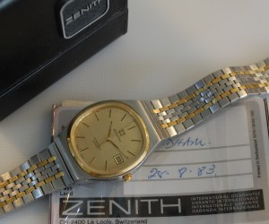 1983 Zenith Espada with box and papers