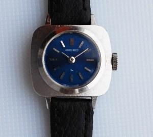 1960 Ladies Seiko with Lapis blue dial