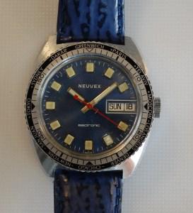 c1975 Neuvex electronic world time