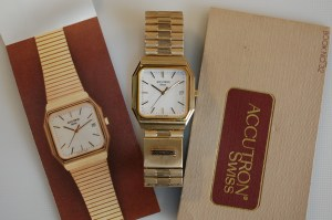 1982 Accutron with box and papers