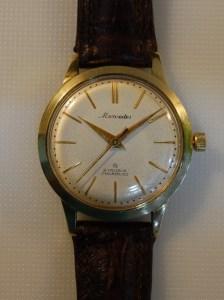 1960 Mercedes 14k gold watch