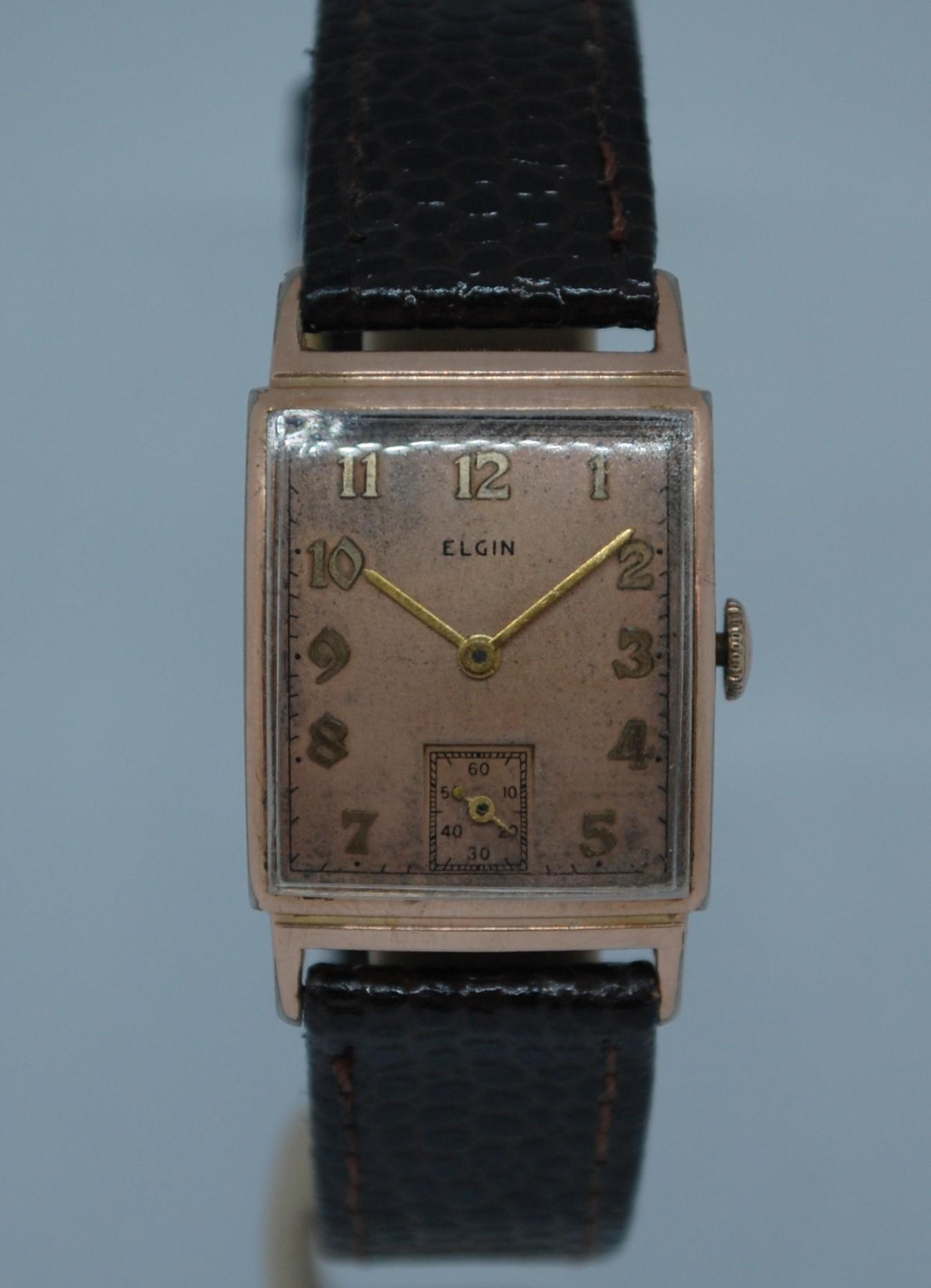 antique elgin watch serial numbers