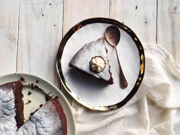 Cake de Chocolate y Vino Tinto