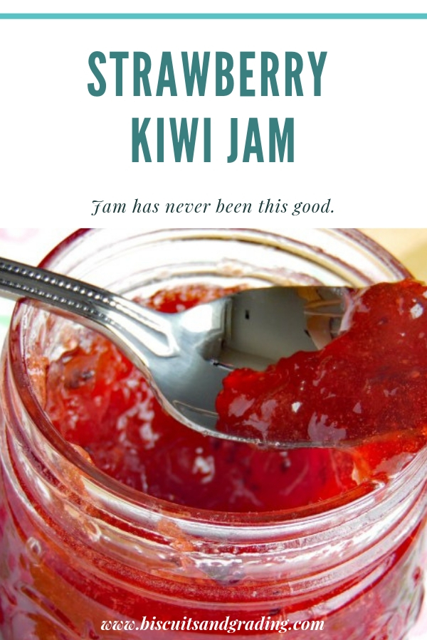 Strawberry Kiwi Jam Canning