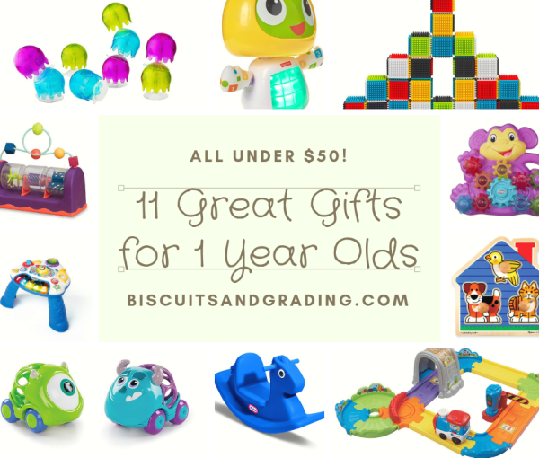 11 Great Christmas Gift Ideas for One Year-Olds (All Under $50!)