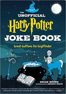harry potter joke book