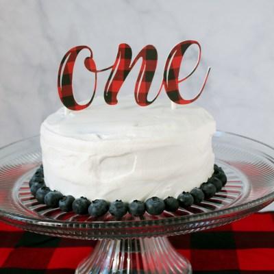 1st Birthday Banana Smash Cake - NO added sugar