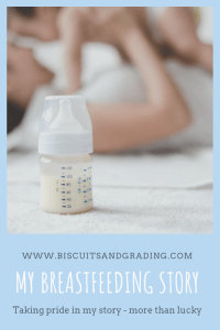 My Breastfeeding Story - More Than Lucky #breastfeeding #fedisbest #breastfeedingisnoteasy #babies #mama #babymama