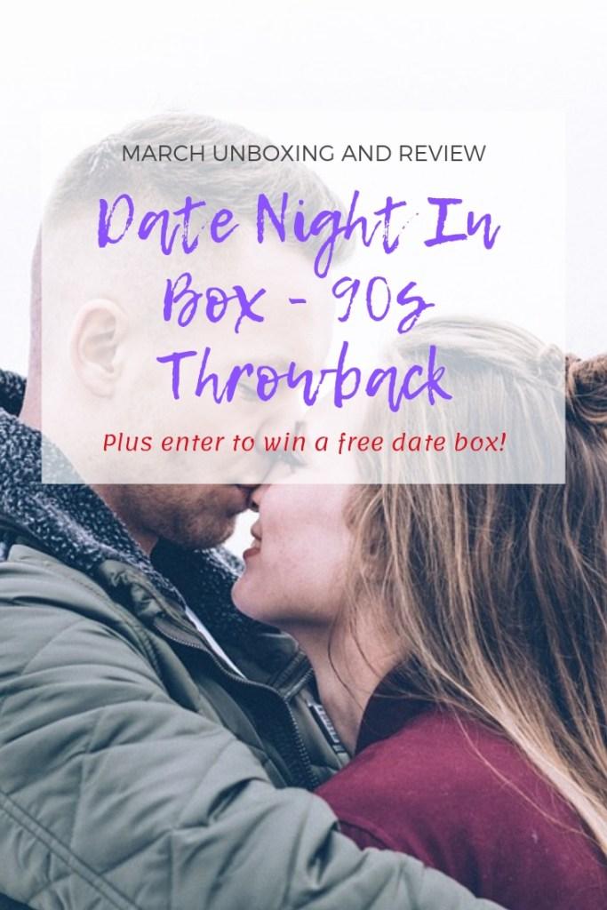 Date Night In Box #datenightinbox #nightinboxes #datenight #nib