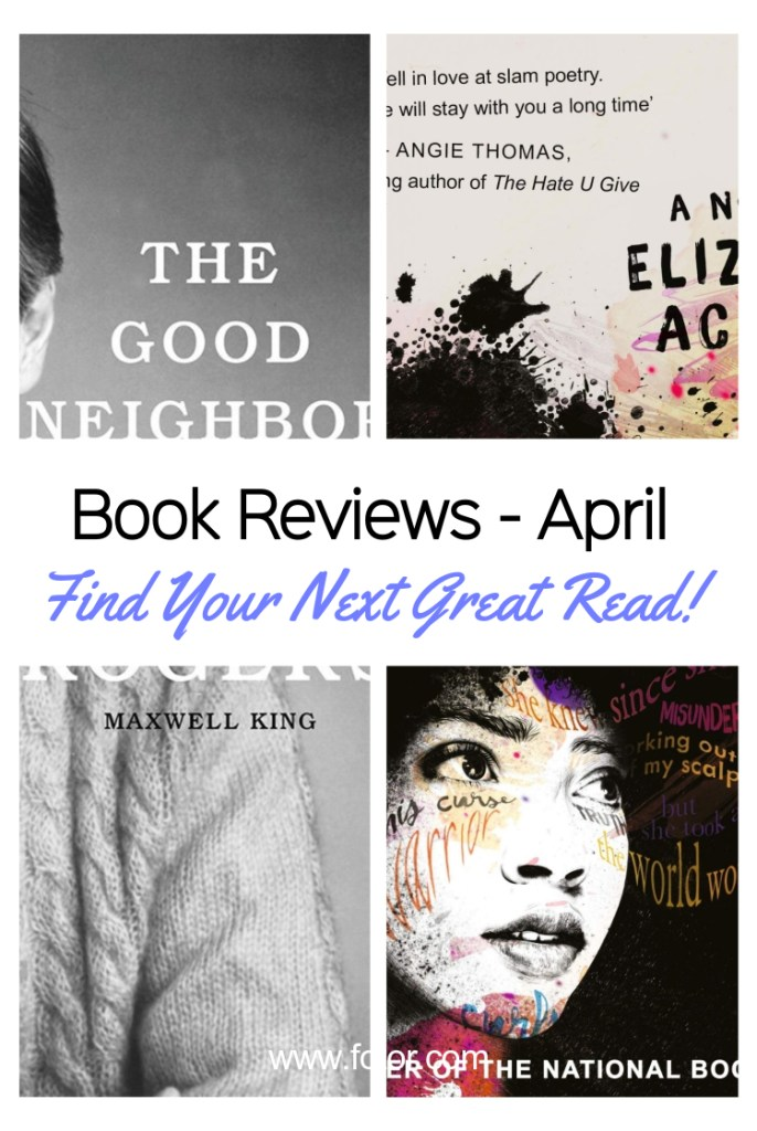 Book Reviews April #currentlyreading #bookreviews #bookworm #bookaddict