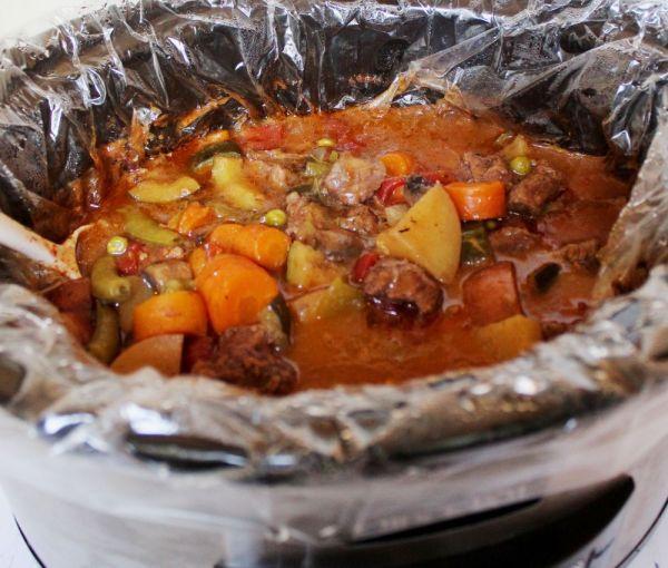 Slow Cooker Summer Beef Stew