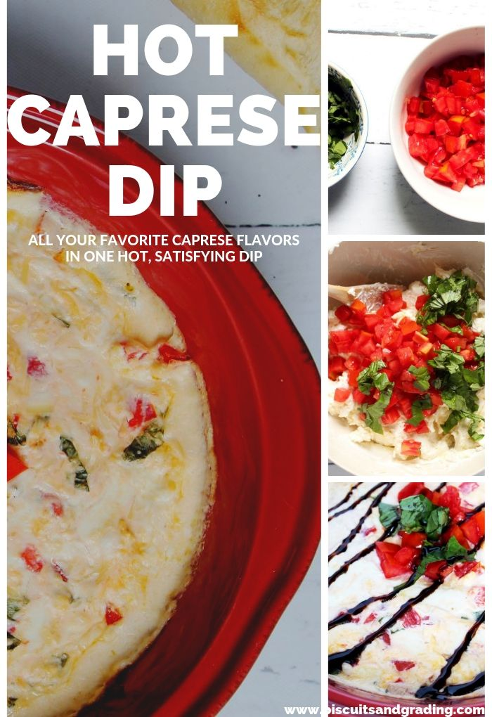 Hot Caprese Dip