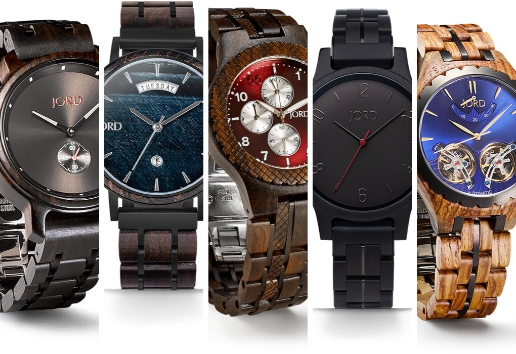 JORD Mens Wood Watches