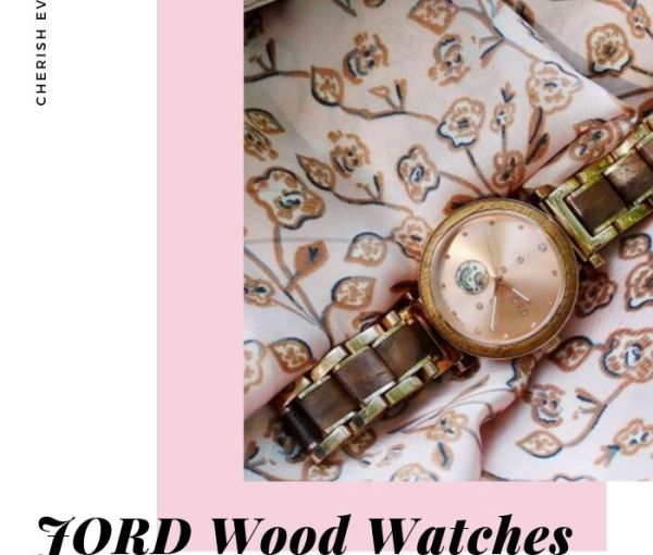 JORD Natural Wood Watch and a Giveaway