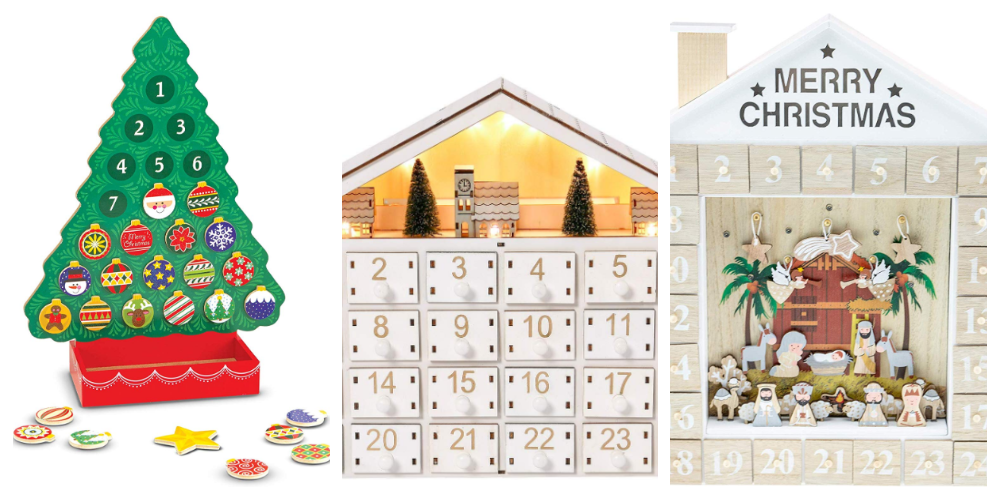 Classic Advent Calendars for Toddlers