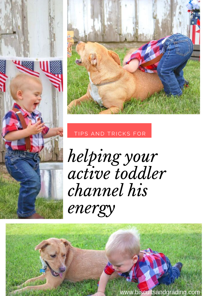 helping your active toddler channel his energy
