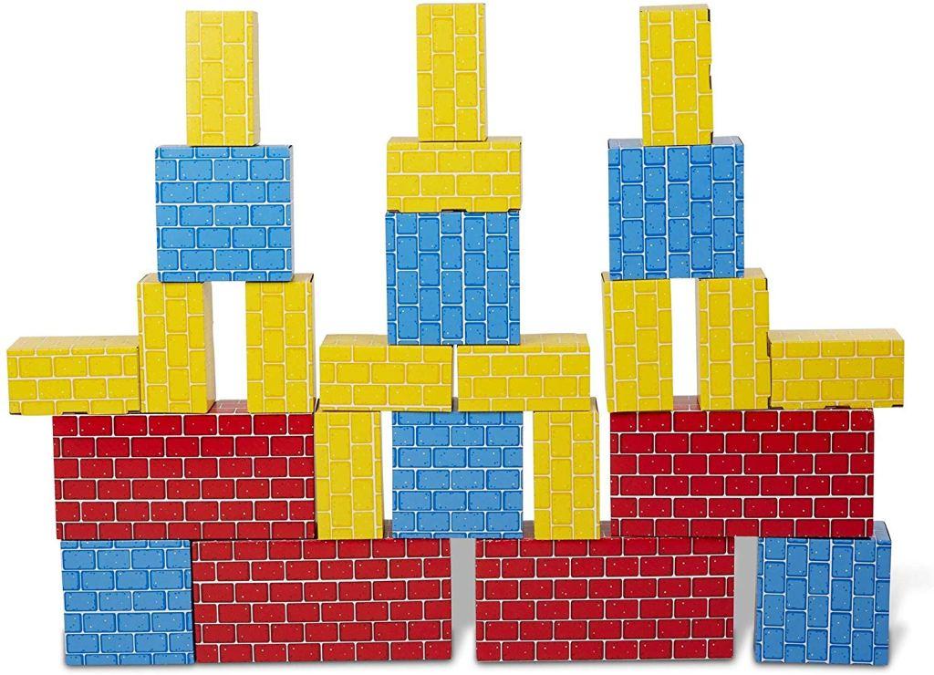 melissa and doug cardboard blocks stem gift ideas